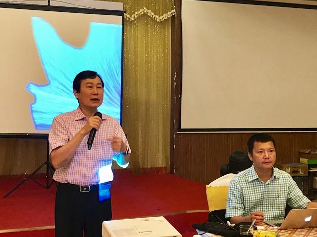 Ông Nguyễn Văn Mẫn - Chủ tịch Petrolimex Đà Nẵng phát biểu khai giảng khóa học