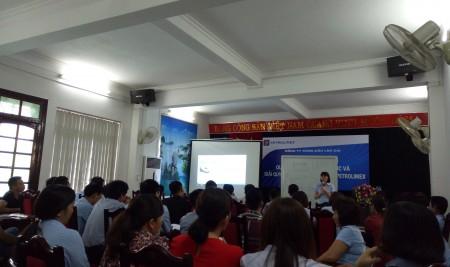 """KASH Việt Nam tổ chức chương trình đào tạo """"Kỹ năng thực hành quy trình bán hàng 5 bước và kỹ năng giao tiếp, giải quyết tình huống tại cửa hàng xăng dầu Petrolimex"""" cho Công ty Xăng dầu Lào Cai"""