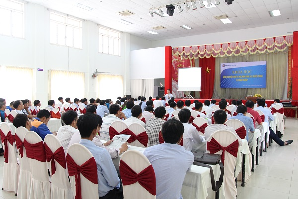 Toàn cảnh lớp học tại Chi nhánh Xăng dầu Quảng Nam